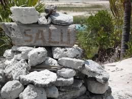 rock wall stone wall material bahamas boulder water feature