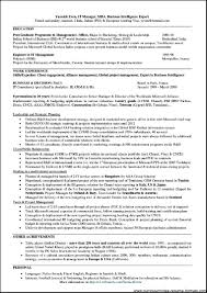 Resume Template Objective For General Examples Internship In With