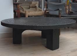 round black coffee table. Round Black Coffee Table