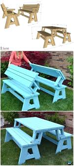 outdoor table ideas projects free plans instructions picnic table ideas convertible picnic table and bench instructions outdoor table ideas projects free