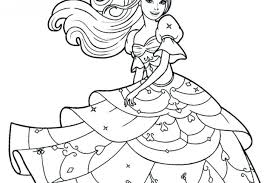 Coloring Pages Barbie Doll Games Print Glamorous Sheet Best Of Page