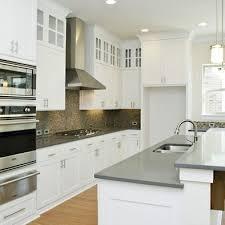 grey countertops gray countertops white cupboards kitchen remodel