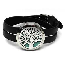 jewelry watches 316l twist aromatherapy locket bracelet essential oil diffuser leather bracelet