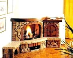 stone corner fireplaces corner fireplaces design ideas galleries stone look corner electric fireplace