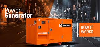 power generators. Power Generator | Grupel Power Generators P