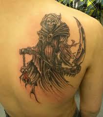 мужские татуировки на лопатке фото тату