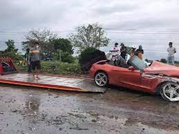 สุรภักดิ์ ภูไชยแสง คนขับรถสปอร์ตสีส้มที่เสียชีวิต