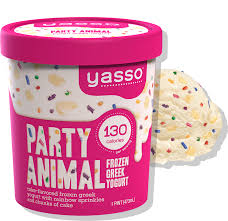 Party Animal Pint Yasso Frozen Greek Yogurt