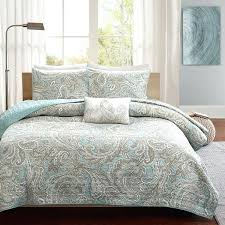 purple paisley comforter comforter and coverlet set park pure 4 piece blue pertaining to paisley king purple paisley comforter