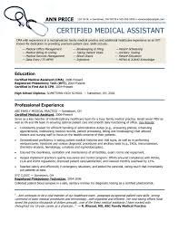 What Does A Good Resume Look Like Beauteous New Resume Examples Example Of Medical Assistant Resume Regular