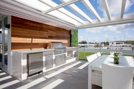 MansionAtDoral Luxapatio - Outdoor kitchen miami