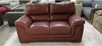 majori semi aniline leather sofa 2