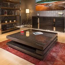 extra large modern square black gloss
