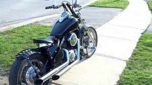 kawasaki vulcan 800 bobber kit youtube