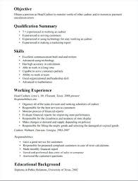 sample of resume with job description sample resume for cashier job sample cashier job description resume