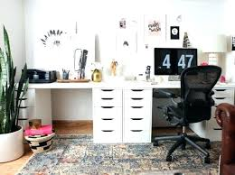 home office double desk. Double Desk Office Home One Room Challenge . H