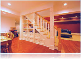 Perfect Basement Stairs Storage Halloween Design Under Ideas D Intended