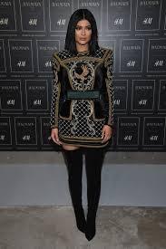 Balmain H M Size Chart Kylie Jenner Photos Photos Balmain X H M Collection Launch