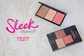 test sleek contouring blush palette 373 light moja opinia