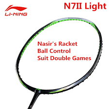 2019 N7ii Light Professional Badminton Rackets Li Ning Nasirs Racquet Aypm212 Lining Sports Racket Suit Double Players L769 From Charlia 289 34