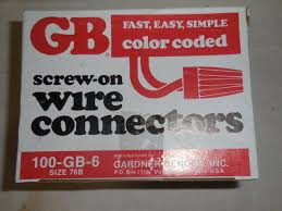 Red Wire Nut Chart Gardner Bender Gb 6 10 006 Screw On Wire Connector Nut Size 76b 15 Boxes 100 Box