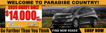 Chevrolet Dealer Temecula Ca Used Car Dealership Paradise Chevrolet Cadillac