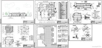 Проект кафе скачать Чертежи РУ Курсовая работа Столовая кафе на 106 мест 24 х 27 м в г