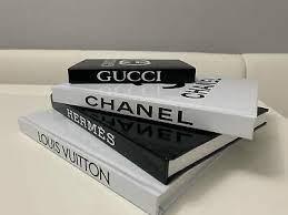 set of 4 coffee table designer books