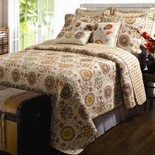 Quilts, Quilt Sets, and Coverlet Bedding | Touch of Class & Andorra Quilt Set Dark Beige Adamdwight.com