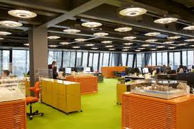 open ceiling lighting. Cheesegrater \u2013 Officially Called The Leadenhall Building By Being Only Floor To Have Exposed Services In An Open Ceiling And Lighting Provides