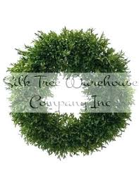 large outdoor boxwood wreath artificial wreaths inch faux