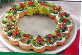 Christmas Appetizer Wreath - 25 Amazing Christmas Party Appetizer Recipes!  Fun Food Ideas and more