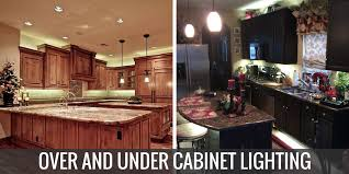 above cabinet lighting. Cabinet Lighting For Fall Above B