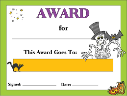 Costume Contest Certificate Template Haloween Certificate In 2019 Halloween Costume Awards