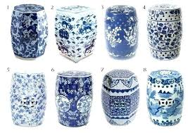 blue garden stool. Amazing Dark Blue Garden Stool Navy Jobiclub Pertaining To Decorations 19 D