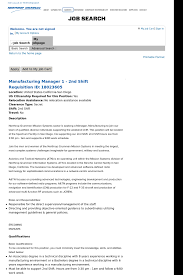Explain Why You Should Be Considered For The Position Manufacturing Manager 1 2nd Shift Job At Northrop Grumman