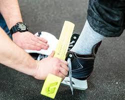 Hockey Skate Fit Chart Skate Fitting Hockey X Superstore