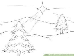 image led draw a landscape step 4
