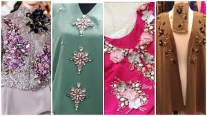 Beads Design Ideas Clothes Beaded Hand Embroidery Neck Design For Dress Beads Work Easy Neck Stitches Designs By Beauty Bucke