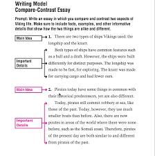 Comparison Contrast Essay Examples Internetupdater Web Fc2 Com