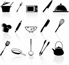 kitchen utensils silhouette vector free. Delighful Vector Kitchen Utensil Icons Set To Utensils Silhouette Vector Free 9
