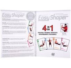 Easy Shaper Exercise Chart Online Shopping For Canadians
