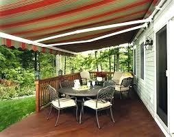 patio awning ideas deck model retractable uk
