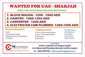 Cleaning Company Jobs Wanted For Inter Emirates Building Cleaning Services Llc In Sharjah Uae
