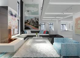 Living Room:Cool Modern Minimalist Livingroom Design Idea With Creative  Abstrack Wall Art Also White