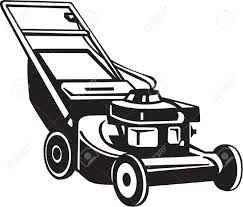 lawn mower logo black and white. lawn mower clipart #15184 logo black and white clipartion.com