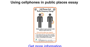using cellphones in public places essay google docs