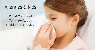 Childrens Benadryl Dosage Chart Allergies And Kids