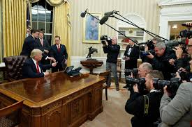 where is the oval office. new white house look trump gives the oval office a makeover political news us where is