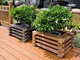 composite decking flower box lowes wpc deck boxes i23